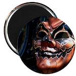 Masked in Color - Digital Photography Magnet