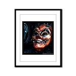 Masked in Color - Digital Photography Framed Panel