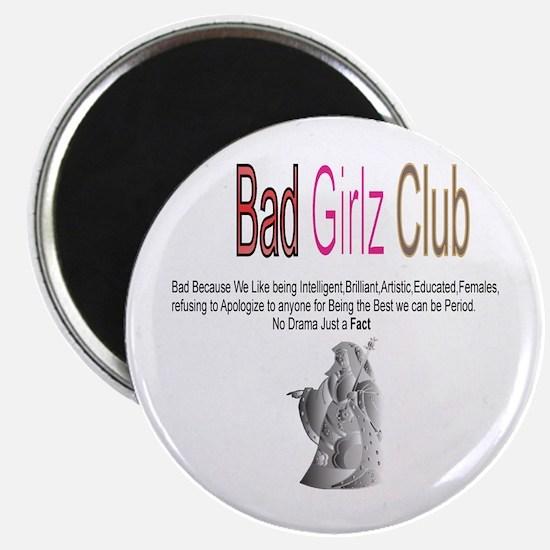 "Bad Girlz Club 3 2.25"" Magnet (10 pack)"