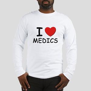 I love medics Long Sleeve T-Shirt