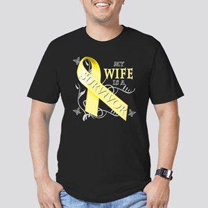 My Wife is a Survivor (yellow) T-Shirt