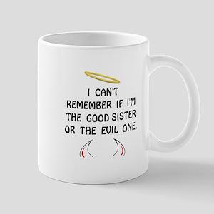 Good Evil Sister Mug