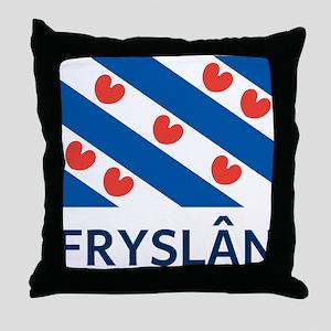 Fryslan Throw Pillow