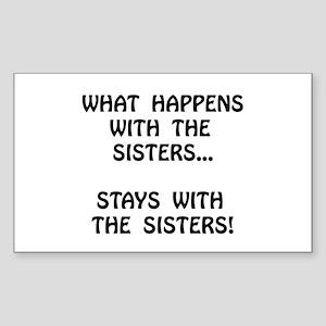 Happens Sisters Sticker