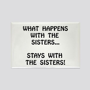 Happens Sisters Rectangle Magnet (10 pack)