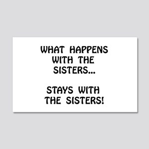Happens Sisters Wall Decal