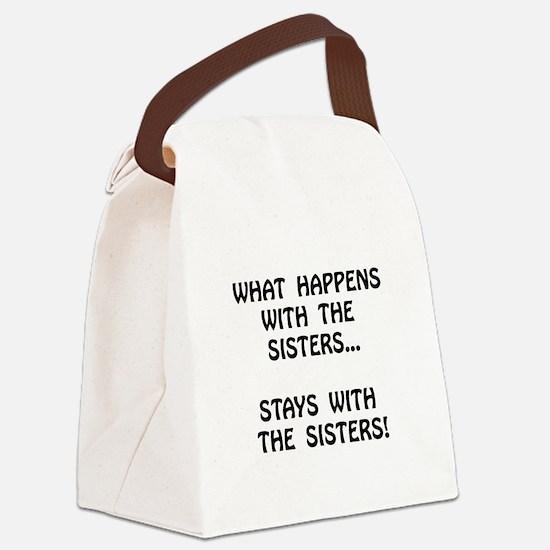 Happens Sisters Canvas Lunch Bag