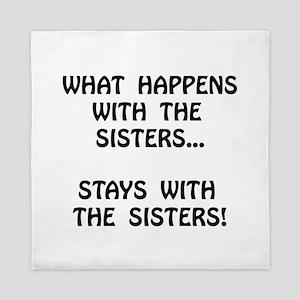 Happens Sisters Queen Duvet