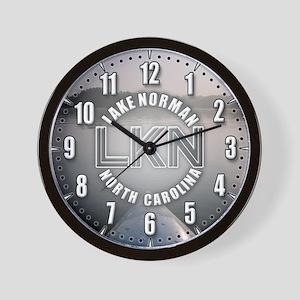 Lake Norman, NC Wall Clock