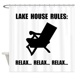 Lake House Shower Curtains