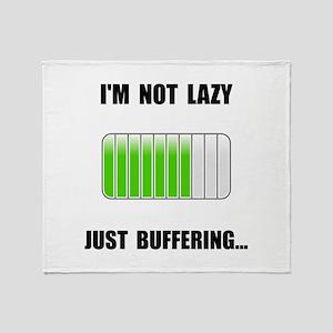 Lazy Buffering Throw Blanket