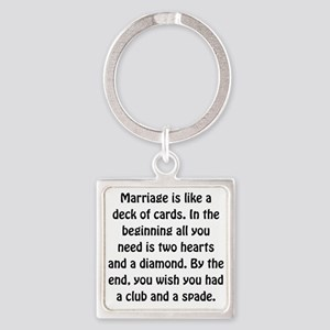 Marriage Cards Keychains