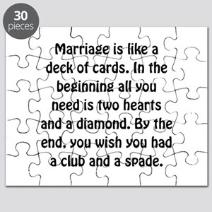 Marriage Cards Puzzle