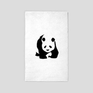 Panda 3'x5' Area Rug