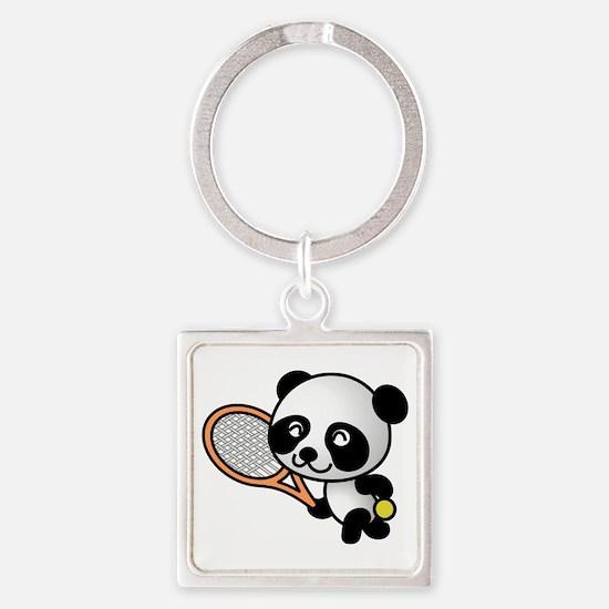 Tennis Panda Keychains