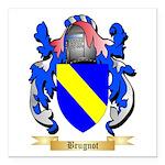Brugnot Square Car Magnet 3