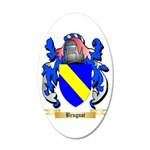 Brugnot 20x12 Oval Wall Decal