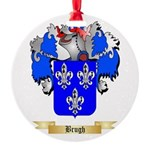 Brugh Round Ornament