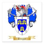 Brugger Square Car Magnet 3