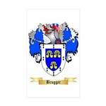 Brugger Sticker (Rectangle 50 pk)