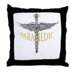 Paramedic Ems Throw Pillow