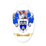 Brugermann Oval Car Magnet