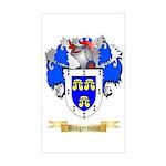 Brugermann Sticker (Rectangle)