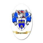 Brugermann 20x12 Oval Wall Decal