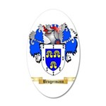 Brugermann 35x21 Oval Wall Decal