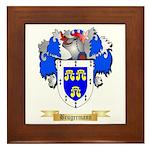 Brugermann Framed Tile