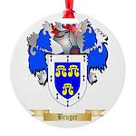 Bruger Round Ornament