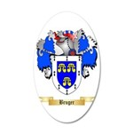 Bruger 35x21 Oval Wall Decal