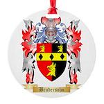 Brudersohn Round Ornament