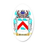 Brudenell Oval Car Magnet
