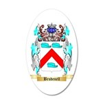 Brudenell 20x12 Oval Wall Decal
