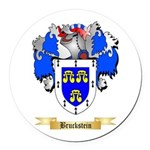 Bruckstein Round Car Magnet