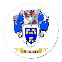 Bruckmann Round Car Magnet