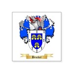 Brucker Square Sticker 3