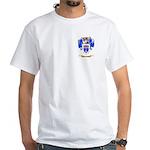 Bruckenthal White T-Shirt