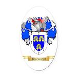 Bruckenthal Oval Car Magnet