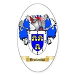 Bruckenthal Sticker (Oval 50 pk)