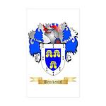 Bruckental Sticker (Rectangle 50 pk)