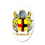 Bruck 20x12 Oval Wall Decal
