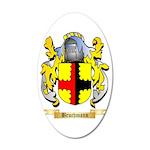 Bruchmann 35x21 Oval Wall Decal
