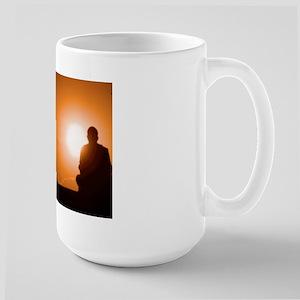Orange Sky Cat Forsley Designs Ceramic Mugs