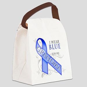 I Wear Blue for my Grandma Canvas Lunch Bag