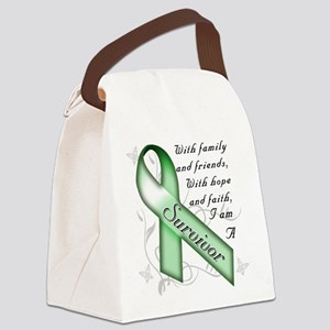Kidney Cancer Survivor Canvas Lunch Bag