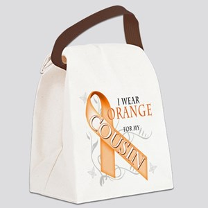 I Wear Orange for my Cousin Canvas Lunch Bag