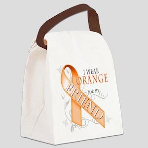 I Wear Orange for my Friend Canvas Lunch Bag