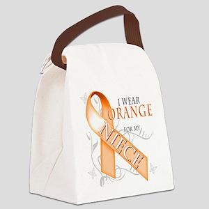 I Wear Orange for my Niece Canvas Lunch Bag